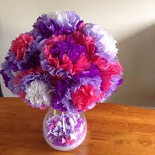 Easy Tissue Paper <b>Flowers</b>: 5 Steps (with <b>Pictures</b>)