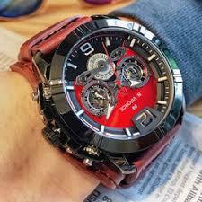 NAVIFORCE Mens Watch Fashion Sport Leather Quartz ... - Vova