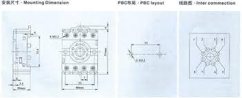 pf083a e relay socket mainland relays pf083a e relay socket