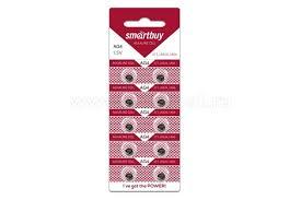 <b>Батарейка AG4 SmartBuy</b> (LR626,377A) Alkaline (1шт)