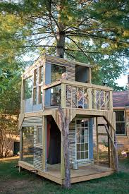 Modern Tree Houses  Awesome Arboreal Dwelling Designs   UrbanistModern Treehouse for Kids