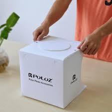 PULUZ <b>Portable Foldable</b> Design <b>Mini</b> Small Size LED <b>Photography</b> ...
