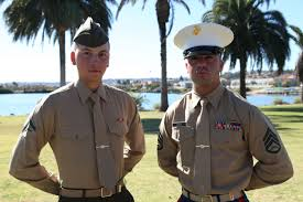 marines mil photos lance cpl adam cardenas honor graduate for mike company stands recruiter staff