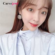 2019 <b>Carvejewl</b> Korean Design Acrylic Pearl <b>Drop Dangle Earrings</b> ...