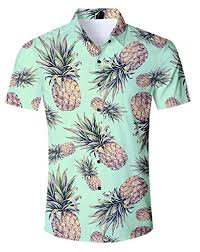 uideazone <b>Men</b> Hawaiian Shirts <b>Summer</b> 3D <b>Printed Short Sleeve</b> ...