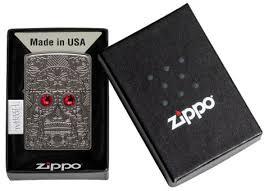 49300 <b>Зажигалка ZIPPO Armor</b>™ Crystal Skull Design с покрытием ...