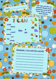 i can action verbs song for kids flashcards and worksheets action verbs building sentences the modal verb can worksheet