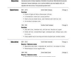 breakupus pleasing resume sample s customer service job breakupus magnificent basic resume templates hloomcom lovely big and bold and stunning resume for server
