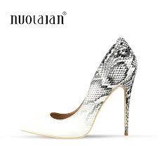 2018 New <b>Brand Sexy</b> Women Pumps Snake Printed High Heels ...