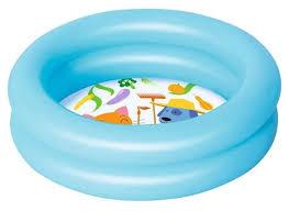 <b>Надувной бассейн</b> детский <b>Bestway</b> 51061 (<b>61х15</b> см, 21 л ...