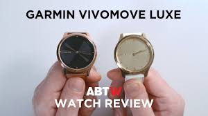 <b>Garmin Vivomove Luxe</b> Watch Review | aBlogtoWatch - YouTube