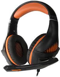 <b>Наушники Crown CMGH-2003</b> оранжевый: купить за 1629 руб ...