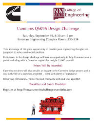 cummins qsk aggie design challenge college of engineering cummins qsk95 aggie design challenge college of engineering new state university