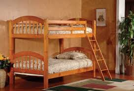 kings brand furniture wood arched design convertible bunk bed best wood furniture brands
