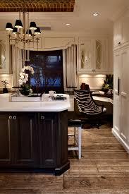 kitchen cabinets home office transitional:  images about kitchen desks on pinterest built in desk nooks and kitchen desks