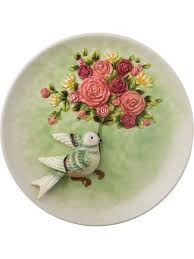 """<b>Декоративная тарелка</b> """"Куст роз и <b>птица</b>"""" 200мм <b>Lefard</b> 5011189 ..."""