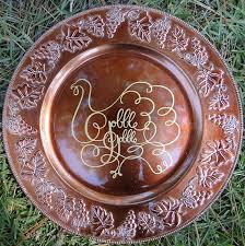 charger plates decorative: decorative fall thanksgiving turkey charger plate