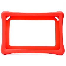 <b>Silicone Case</b> for Nabi <b>Tablet</b> Red – Unclaimed Baggage