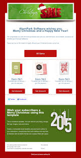 christmas email templates for from atompark software check out our christmas email templates