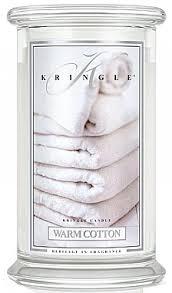 Kringle Candle <b>Warm</b> Cotton - <b>Ароматическая свеча</b> в стакане ...