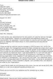sample cover letter for customer service supervisor position sample customer service supervisor cover letter