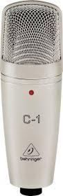 <b>Behringer C</b>-1 <b>микрофон студийный</b> конденсаторный кардиоидный