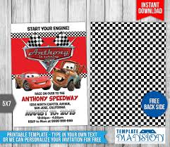 disney cars birthday invitation 2 by templatemansion on disney cars birthday invitation 2 by templatemansion