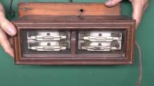wooden fusebox with glass lid and ceramic rewireable fuses youtube Old Fuse Box wooden fusebox with glass lid and ceramic rewireable fuses old fuse box diagram