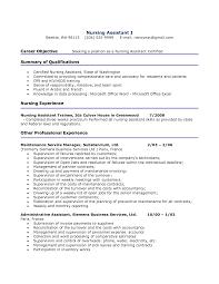 Cna Job Description For Resume Resume For Your Job Application