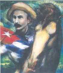 Resultado de imagen para jose marti y la bandera cubana
