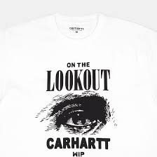 <b>Футболка Carhartt S/S</b> On The Lookout White/Black – купить в ...