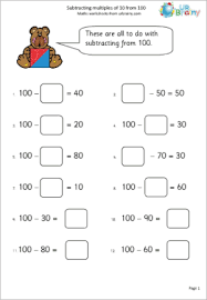 Worksheets Addition And Subtraction To 10 - Free Math Worksheets ...Math Worksheet : Adding And Subtracting Multiples Of 10 And 100 Worksheets Worksheets Addition And Subtraction