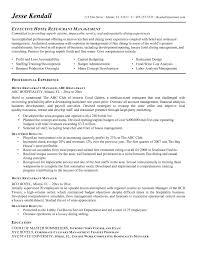 resume duties of restaurant  seangarrette corestaurant manager resume exles fast food assistant templates
