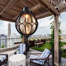 vintage outdoor balcony glass ball chandeliers european grape waterproof aluminum chandelier e27 bulbchina cheap contemporary lighting