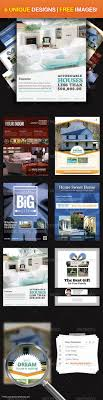 best images about house magazine adverts the real estate ultimate flyer design 1