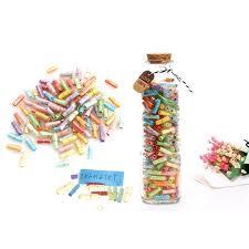 Buy <b>80 Pcs</b> Lovely Cute Clear Pill Shaped Plastic Message <b>Bottles</b> ...