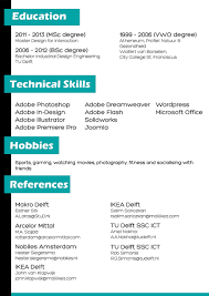 curriculum vitae english club