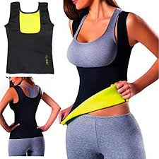 ELAIMEI <b>Women</b> Hot Sweat <b>Body Shaper Tank</b> Thermo Yoga Sauna ...