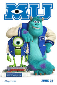 Poster Monsters University película