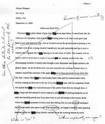 translinguality transmodality        image of a typed essay annotated   teacher comments