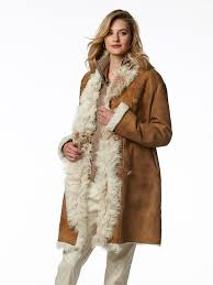 <b>vintage hand painted</b> shearling coat - Gorsuch