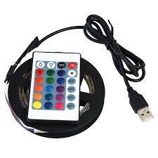 Garosa 5050 RGB Flexible <b>LED</b> Light <b>USB Led</b> Strip,<b>DC 5V USB</b> ...