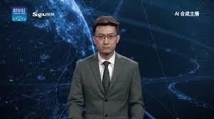 "Spiros Margaris on Twitter: ""<b>Watch</b> this creepy #AI #anchor talk like a ..."