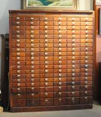 vintage antique 114 drawer hardware general store apothecary wood cabinet antique furniture apothecary general store