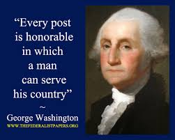 George Washington Quote, Service To Country, to Benedict Arnold ... via Relatably.com