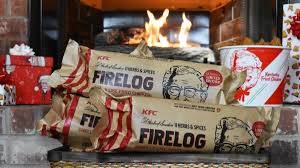 KFC fried chicken-scented firelog sold out in hours ¯_(ツ)_/¯