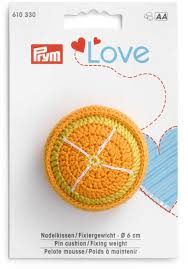 <b>Игольница</b> Prym Love Апельсин, с фиксирующей гирей, 610330 ...