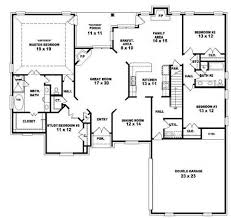 One Story Bedroom House Plans    Bedroom Single Story House        Beautiful One Story Bedroom House Plans   Bedroom Story House Plans