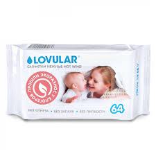 Lovular <b>салфетки</b> влажные 64 листа: 429017, 99 руб. - купить в ...