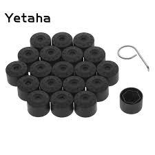 Yetaha <b>20pcs 17mm Wheel Lug Nut</b> Bolt Cap Covers With Removal ...